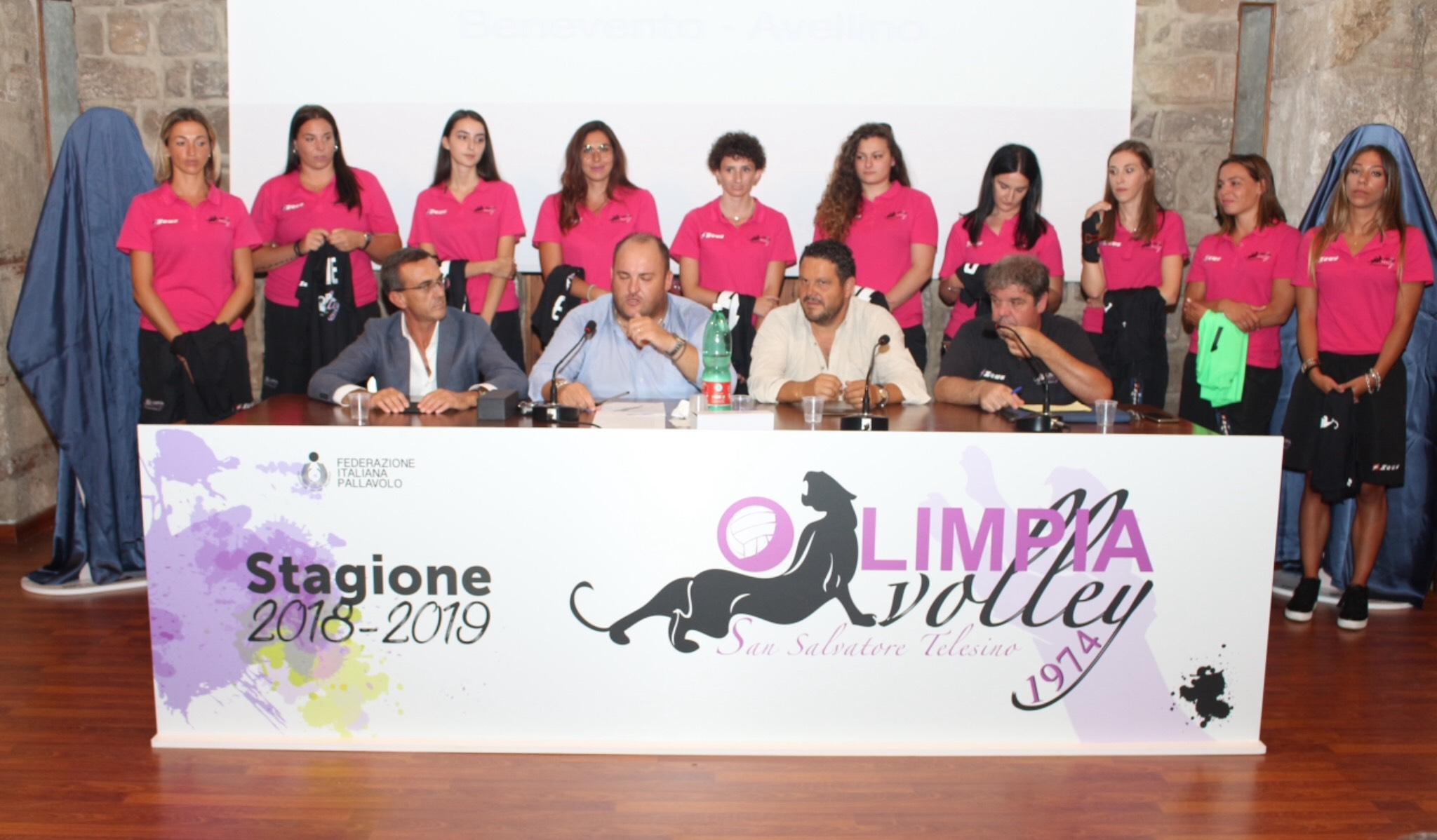 Al via il campionato di Serie C dell'Olimpia Volley. Presentata la nuova maglia e le novità del settore giovanile