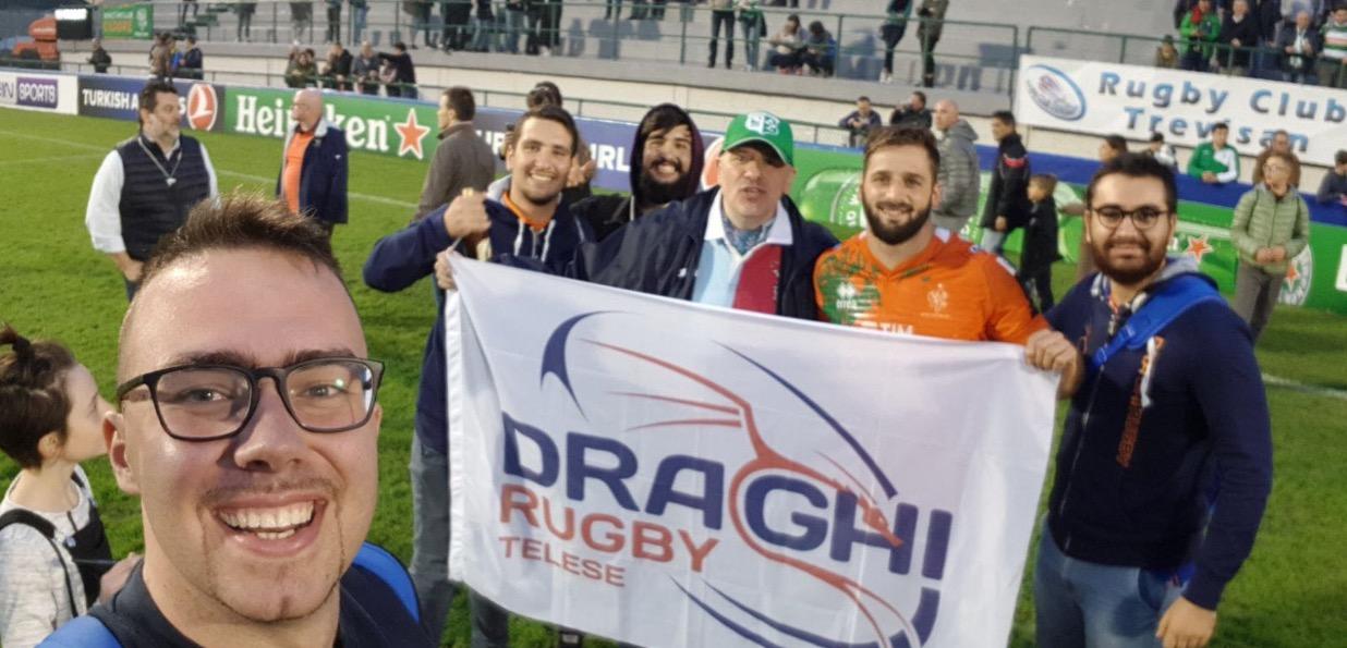 Draghi Rugby Telese, il sogno continua con il campio Serie C2