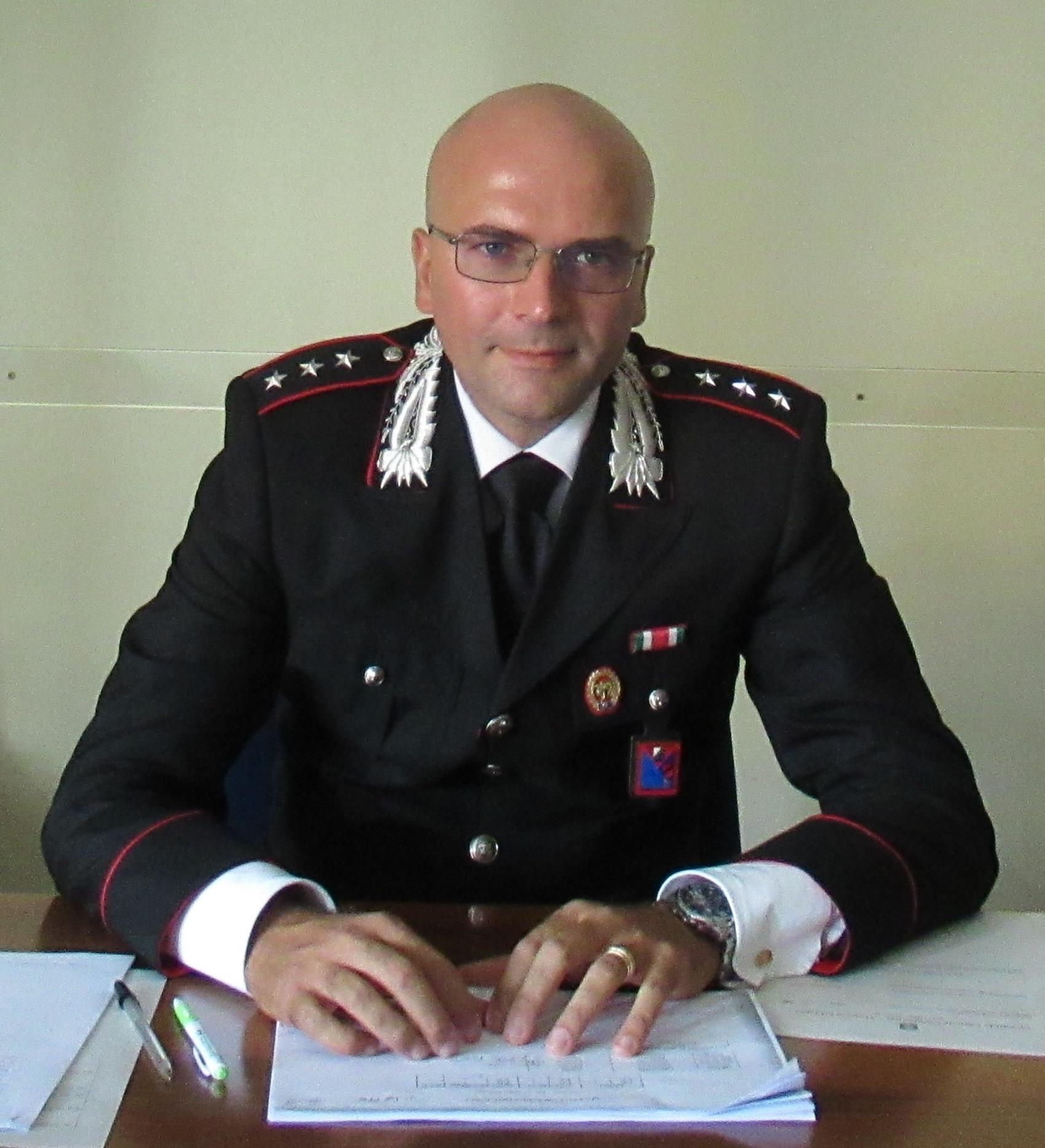 Il Capitano Vincenzo Falce è il nuovo Comandante della Compagnia Carabinieri di Benevento