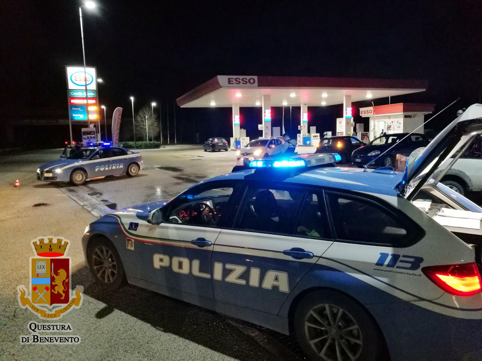 Provincia Sicura, controlli della Polizia di Stato nella Valle Caudina
