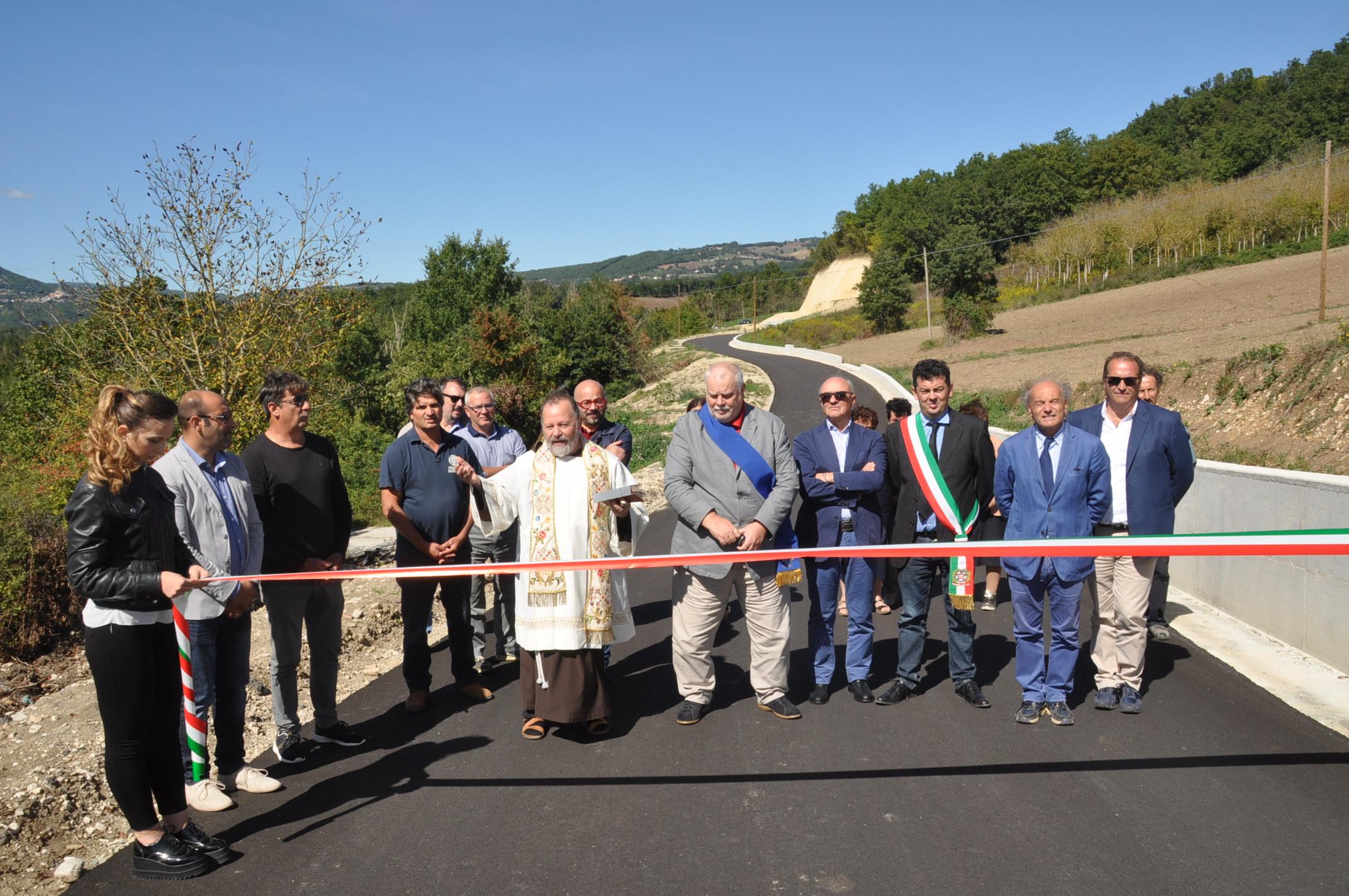 Inaugurata, nell'ambito della Fiera di Morcone, la strada Senzamici