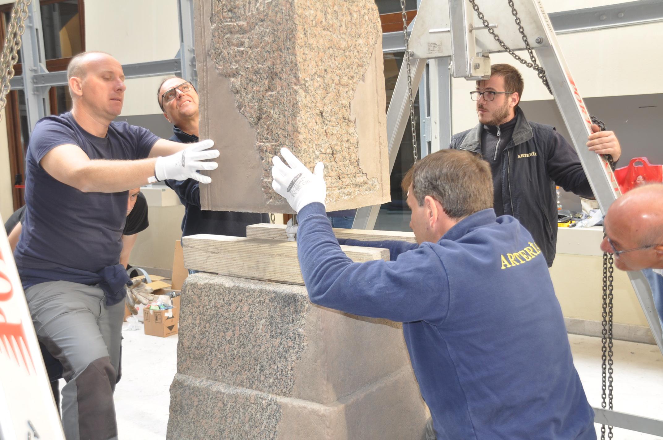 I reperti del tempio isiaco sono tornati al Museo Arcos di Benevento