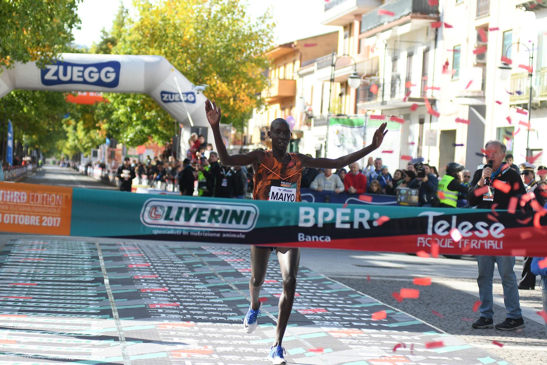 Telesia Half Marathon, record d'iscritti e di Nazioni presenti