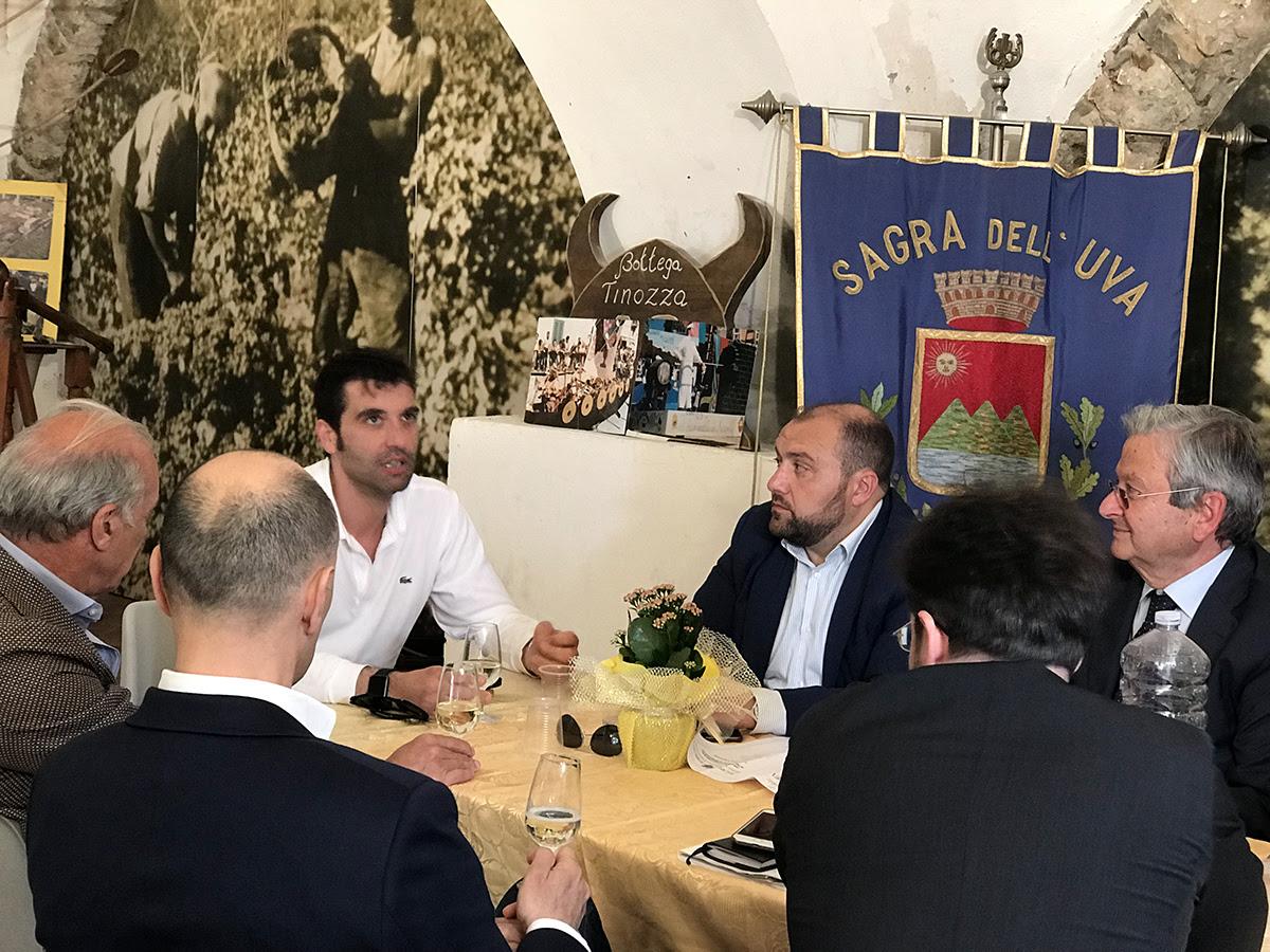 """Città Europea del Vino 2019, Mortaruolo: """"Il Sannio in corsa per la candidatura. Il 16 ottobre incontro in Regione"""""""