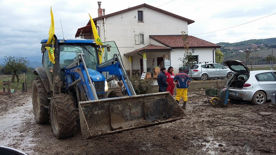 """Alluvione Sannio, Masiello (Coldiretti): """"Agli agricoltori 1/6 dei ristori dopo tre anni"""""""
