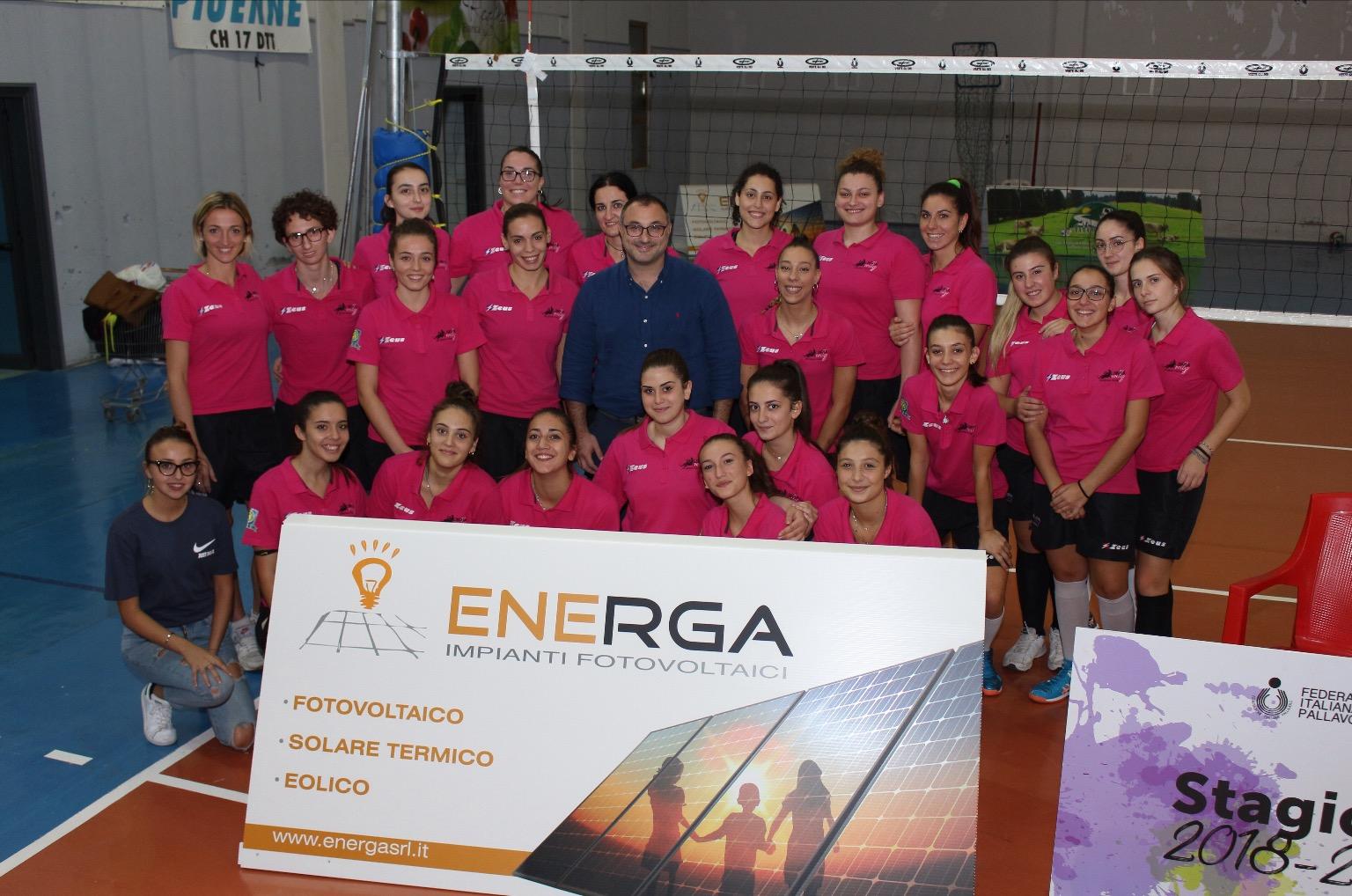 Olimpia Volley, l'azienda beneventana Energa il nuovo main sponsor