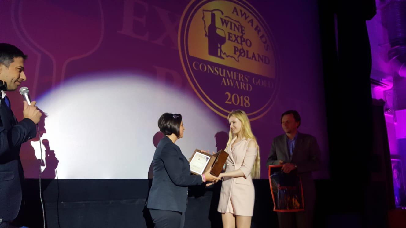 Wine Expo Poland, prestigiosi riconoscimenti per l'azienda sannita 'La Fortezza'