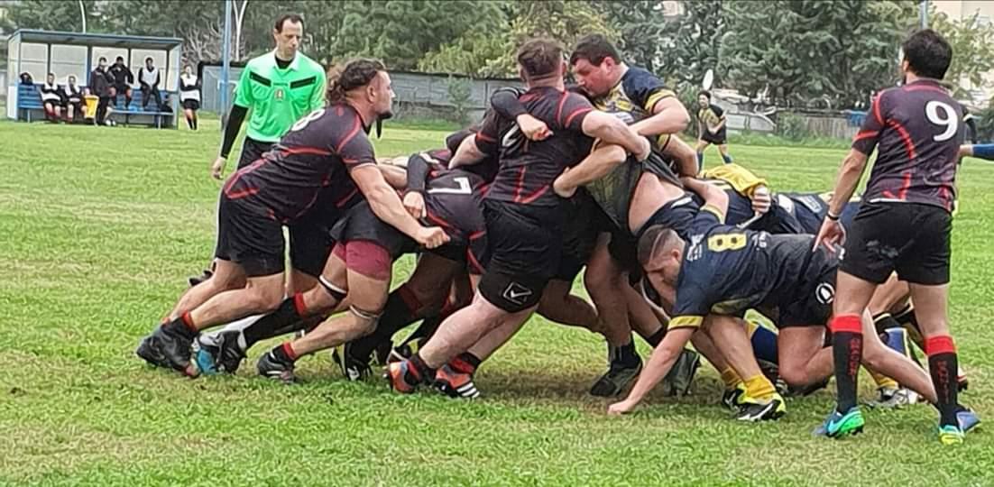 Rugby, i Dragoni strapazzano il Vesuvio