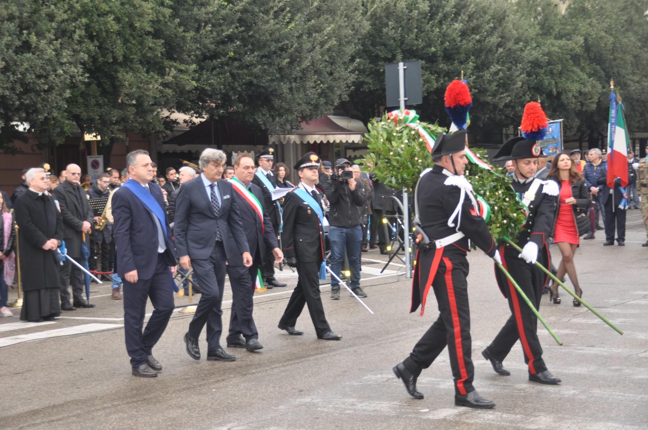 Festa dell'Unitá Nazionale e delle Forze Armate, Di Maria ricorda le indicibili sofferenze patite da chi ha lottato per la difesa della patria