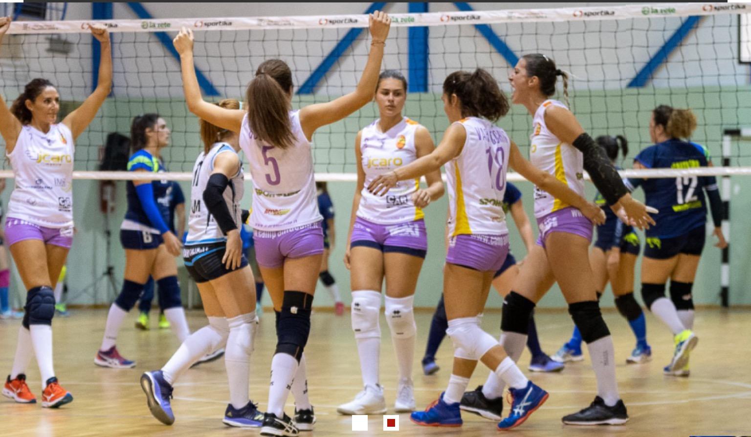 La Icaro Accademia vince il derby contro la Sg Volley