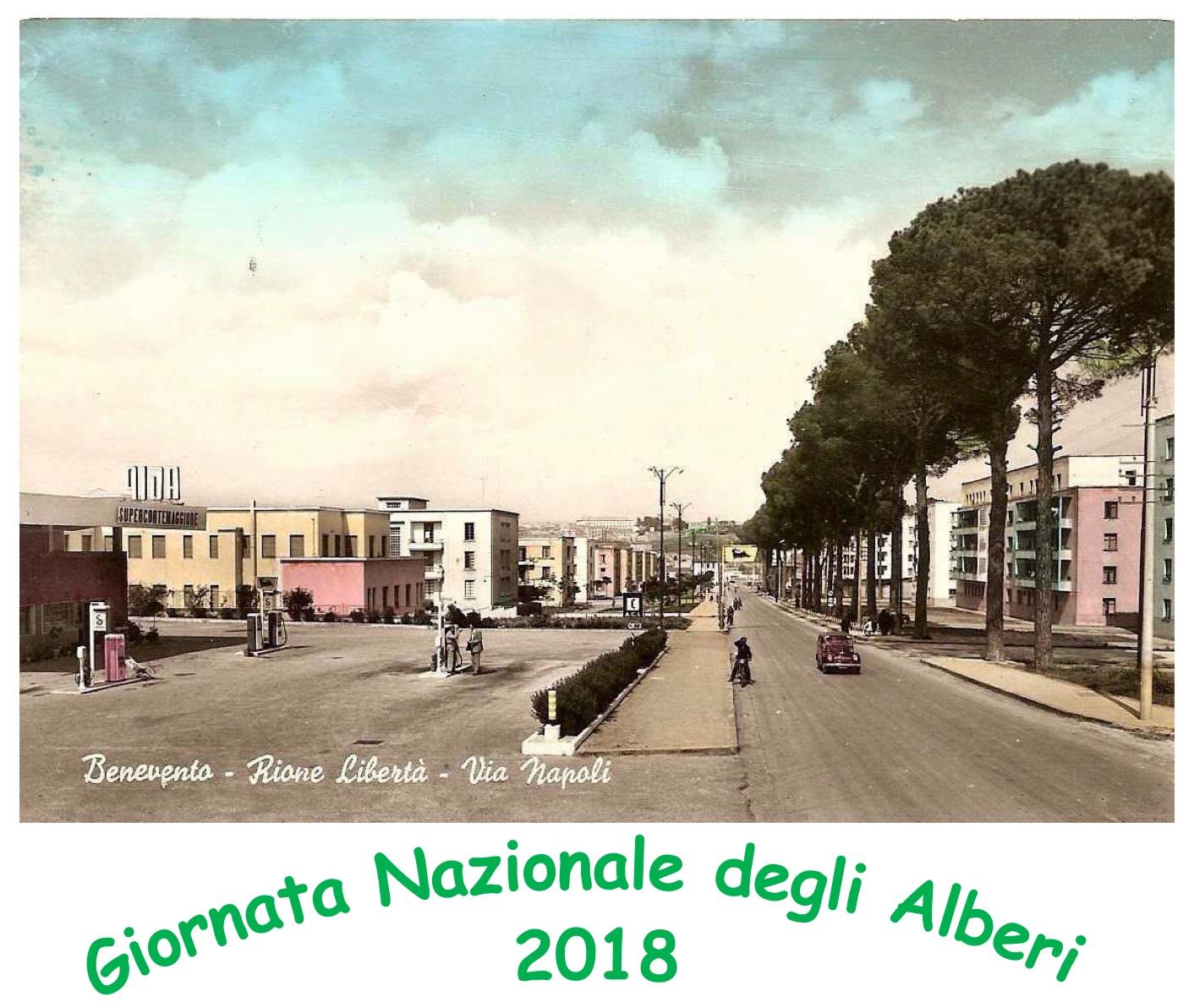 Domani manifestazione a Benevento per la 'Giornata Nazionale degli Alberi'