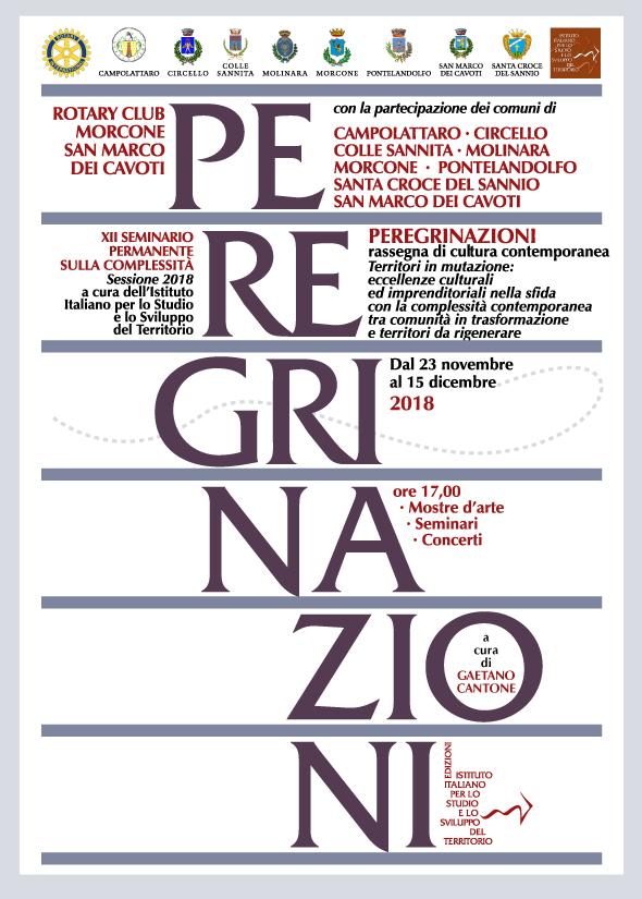 Al via oggi, da Santa Croce del Sannio, la rassegna culturale 'Peregrinazioni'