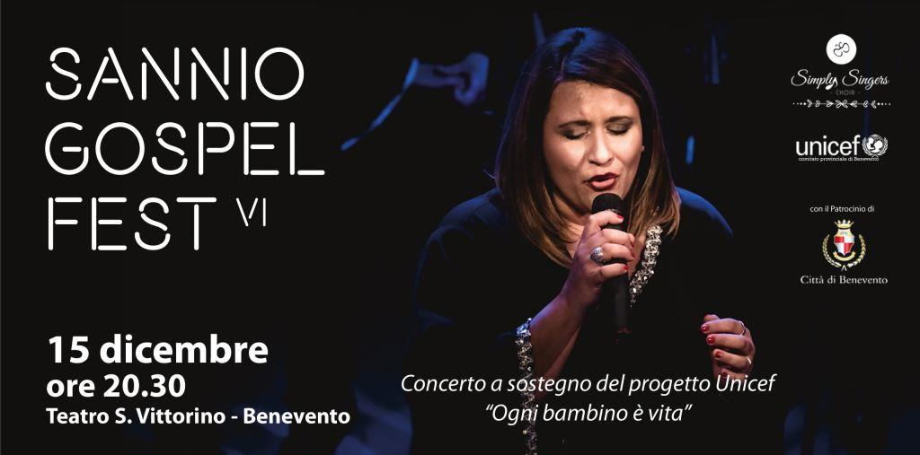 Sannio Gospel Fest, l'appuntamento con la musica gospel è per sabato 15 dicembre al S. Vittorino di Benevento