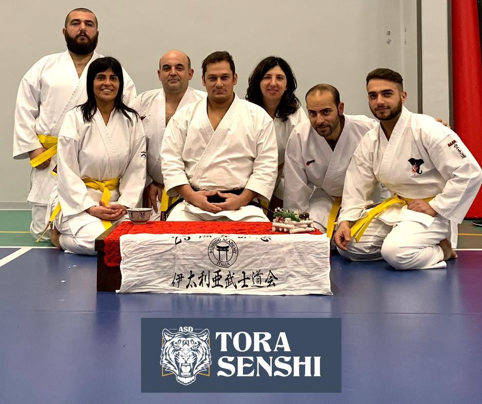 Arti marziali, prime cinture per gli atleti della 'Tora Senshi' di Cerreto Sannita