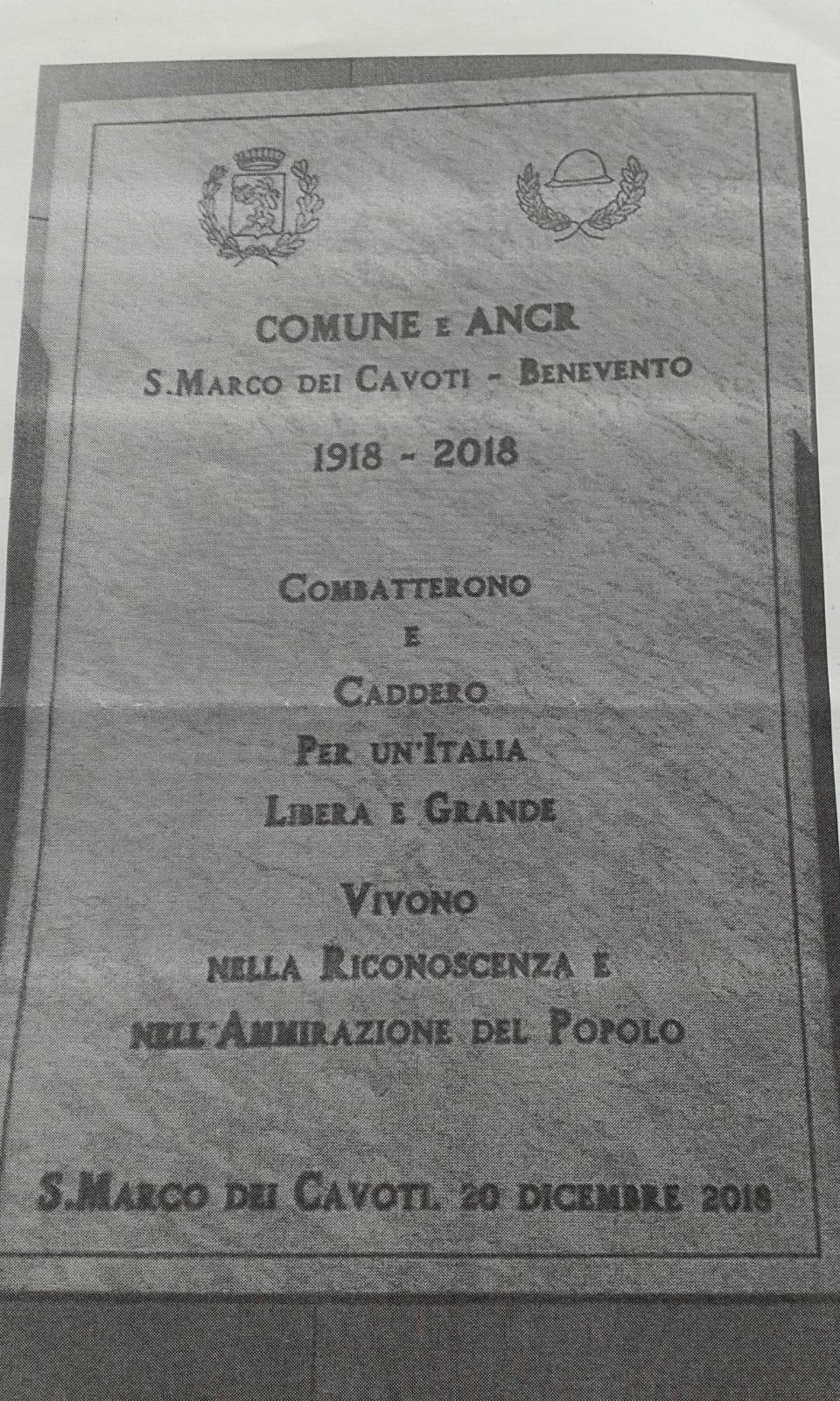 La misteriosa stele di San Marco dei Cavoti, lettera aperta di Fuschetto ai concittadini