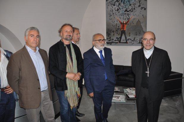 Donazione al Museo Arcosoli da parte del maestro Alfred Mirashi Milot