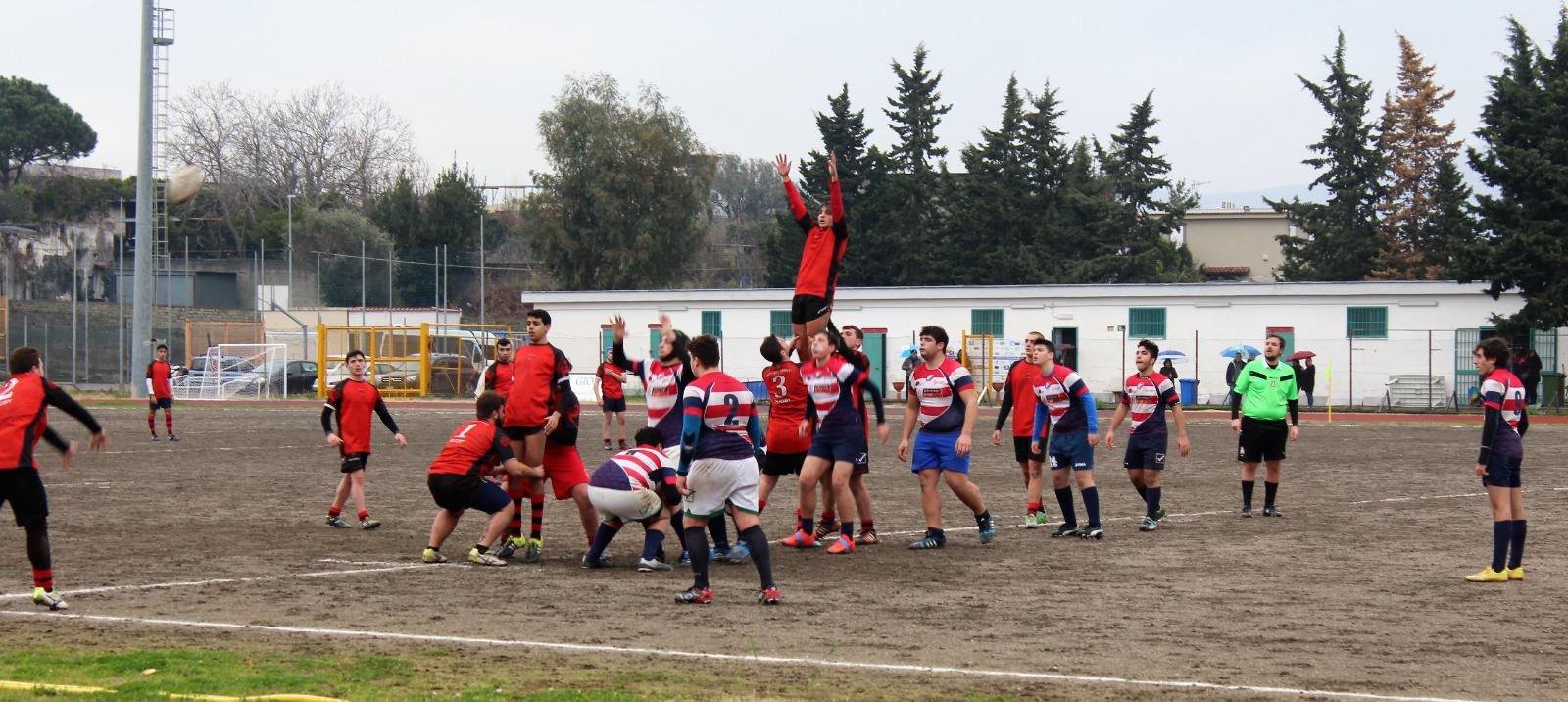 Rugby, l'under 18 dei Dragoni Sanniti ha superato il Torre del Greco in trasferta