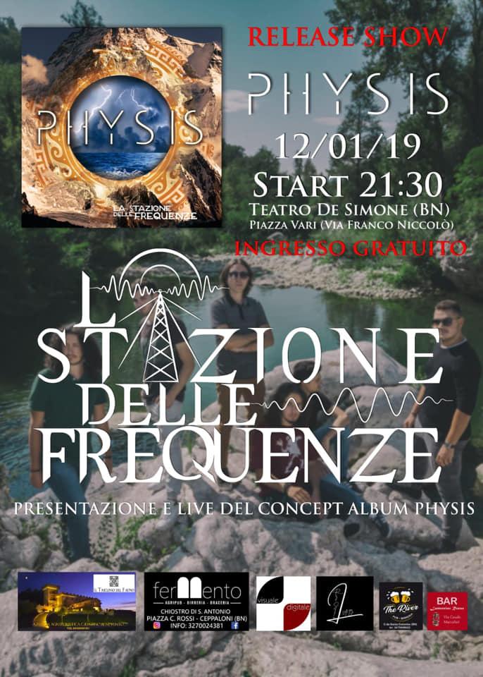 Sabato al De Simone la band 'La Stazione delle Frequenze' si racconta e presenta il nuovo album