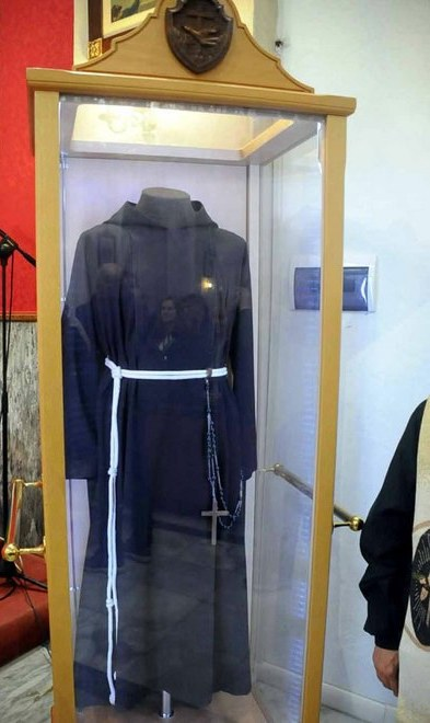 Puglianello, sabato e domenica, ospita la scra reliquia del saio di San Pio