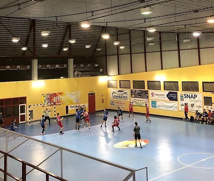 La Asd Pallamano Benevento batte l'Alcamo 32-19