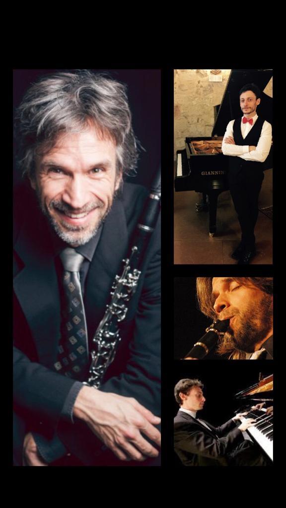 Al Conservatorio di Benevento concerto del clarinettista Ashkenazy in duo col pianista Giovanni Alvino