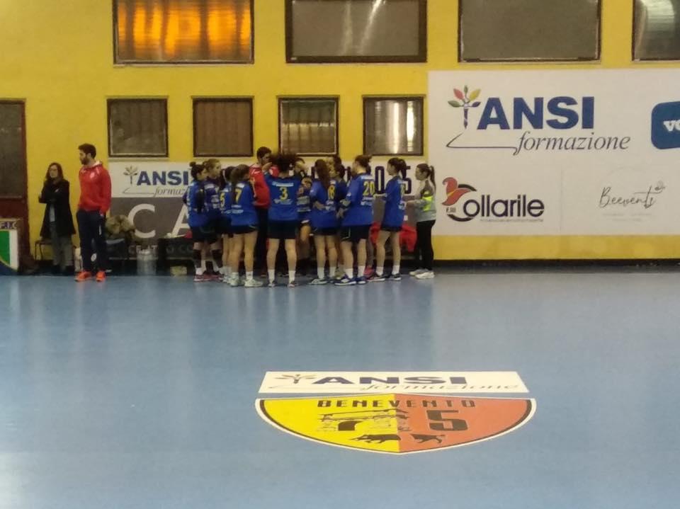 Le ragazze del coach Ventura sconfitte in casa dal Pontinia