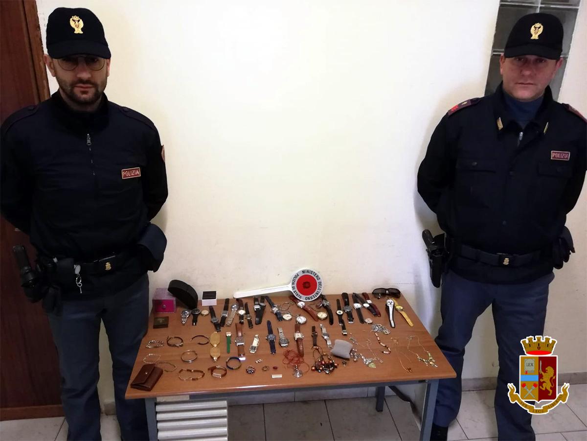 Telese Terme, la polizia ritrova la refurtiva trafugata il giorno prima da un appartamento di via San Giovanni