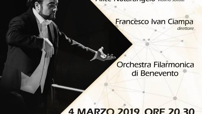Ofb, prima esecuzione assoluta di 'Enchantment' brano di Claudio Ciampa composto 'Per Carlotta'