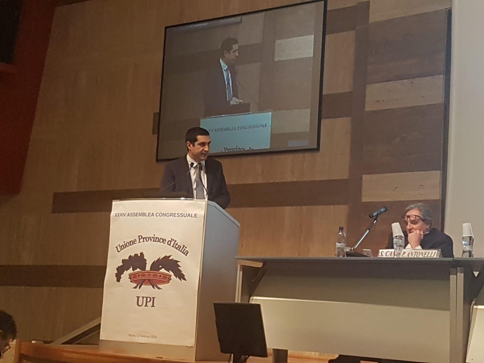 Michele de Pascale è il nuovo Presidente dell'Unione delle Province d'Italia