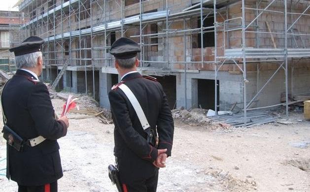 Sicurezza del lavoro sui cantieri edili, ad Airola controlli dei Carabinieri