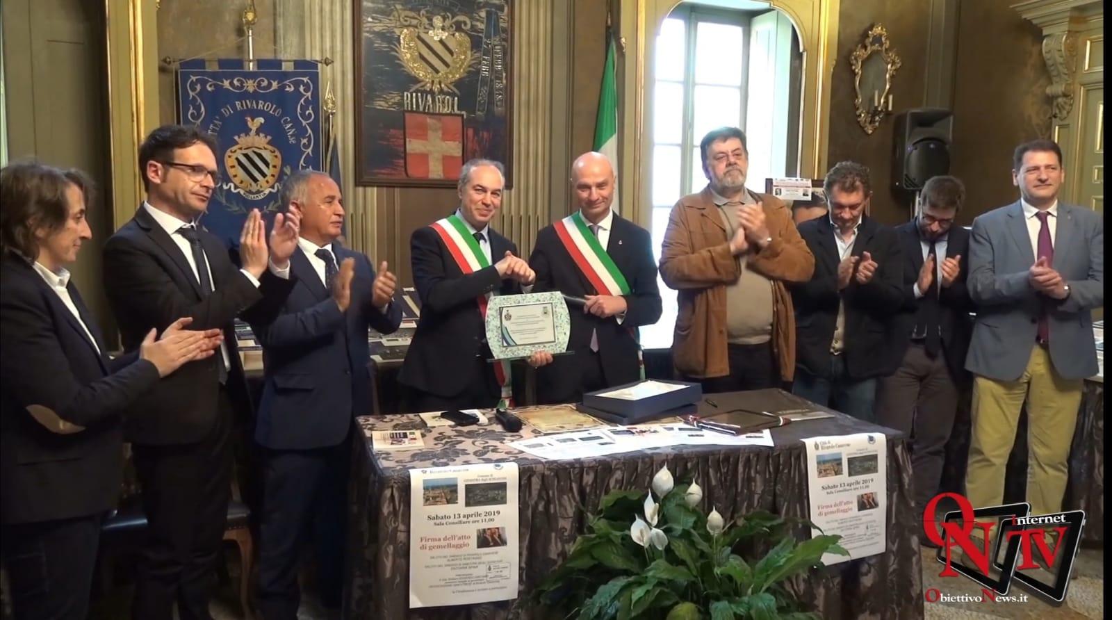 Gemellaggio tra Ginestra degli Schiavoni e Rivarolo Canavese