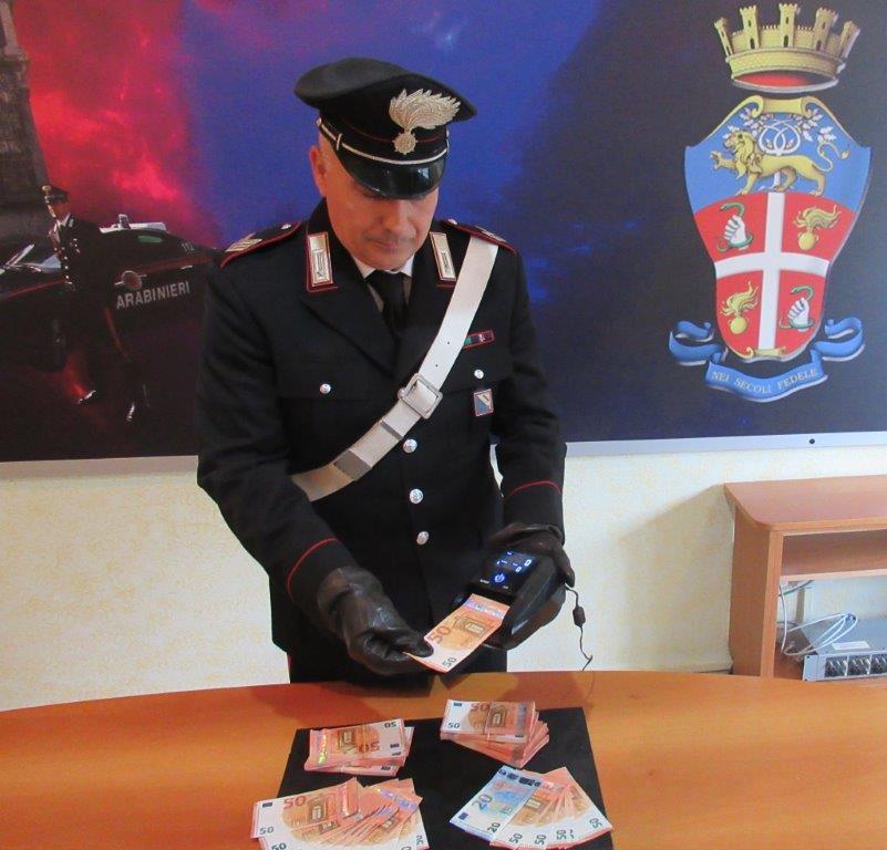 Benevento, manette per due uomini del nord trovate in possesso di banconote false
