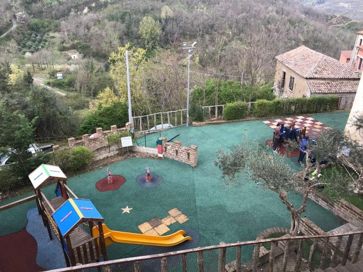 Ceppaloni, la Pro Loco contribuisce alla manutenzione del Parco Giochi Geny Tranfa