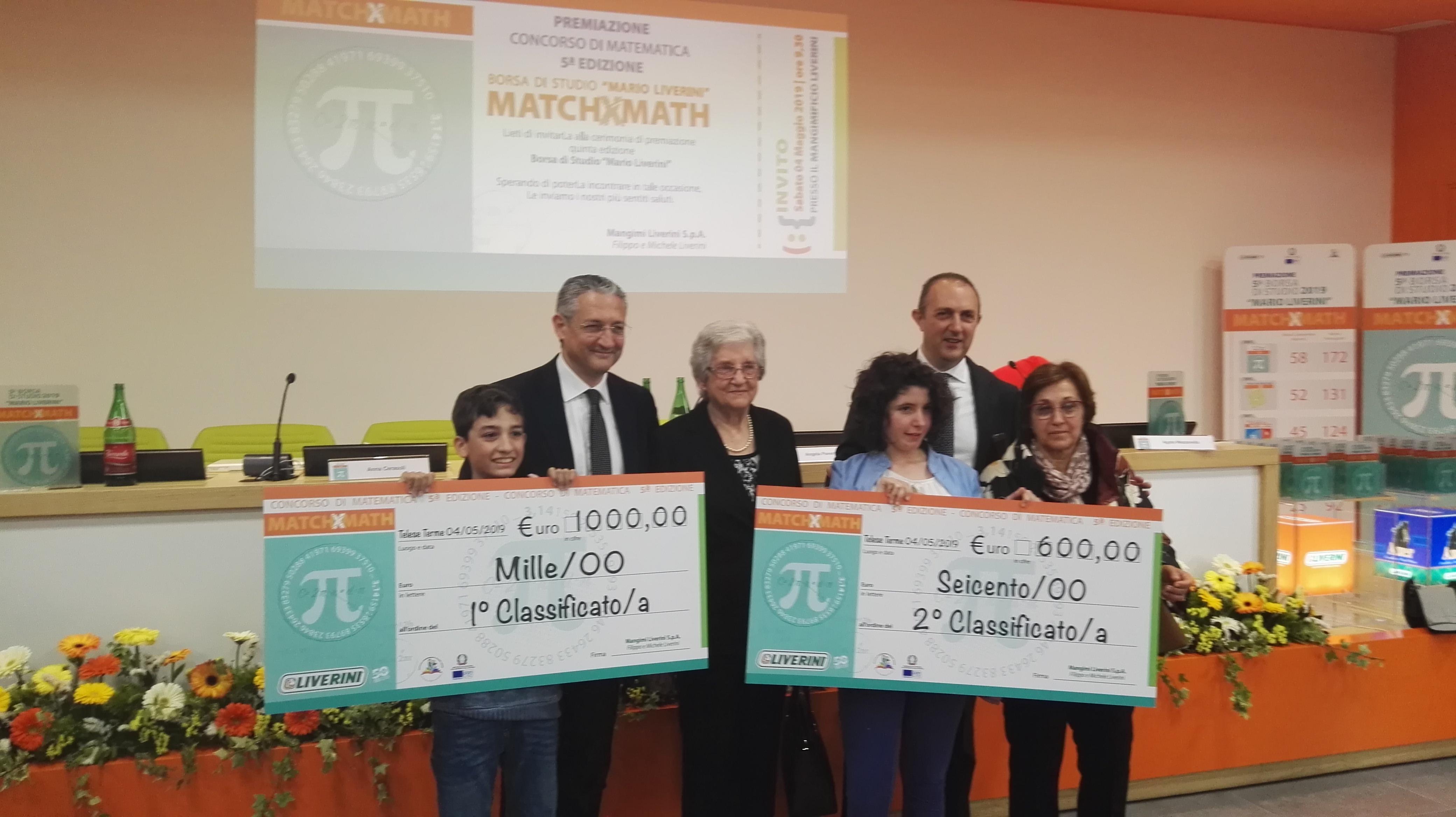 """Ecco i vincitori della V edizione della Borsa di Studio """"Mario Liverini"""""""