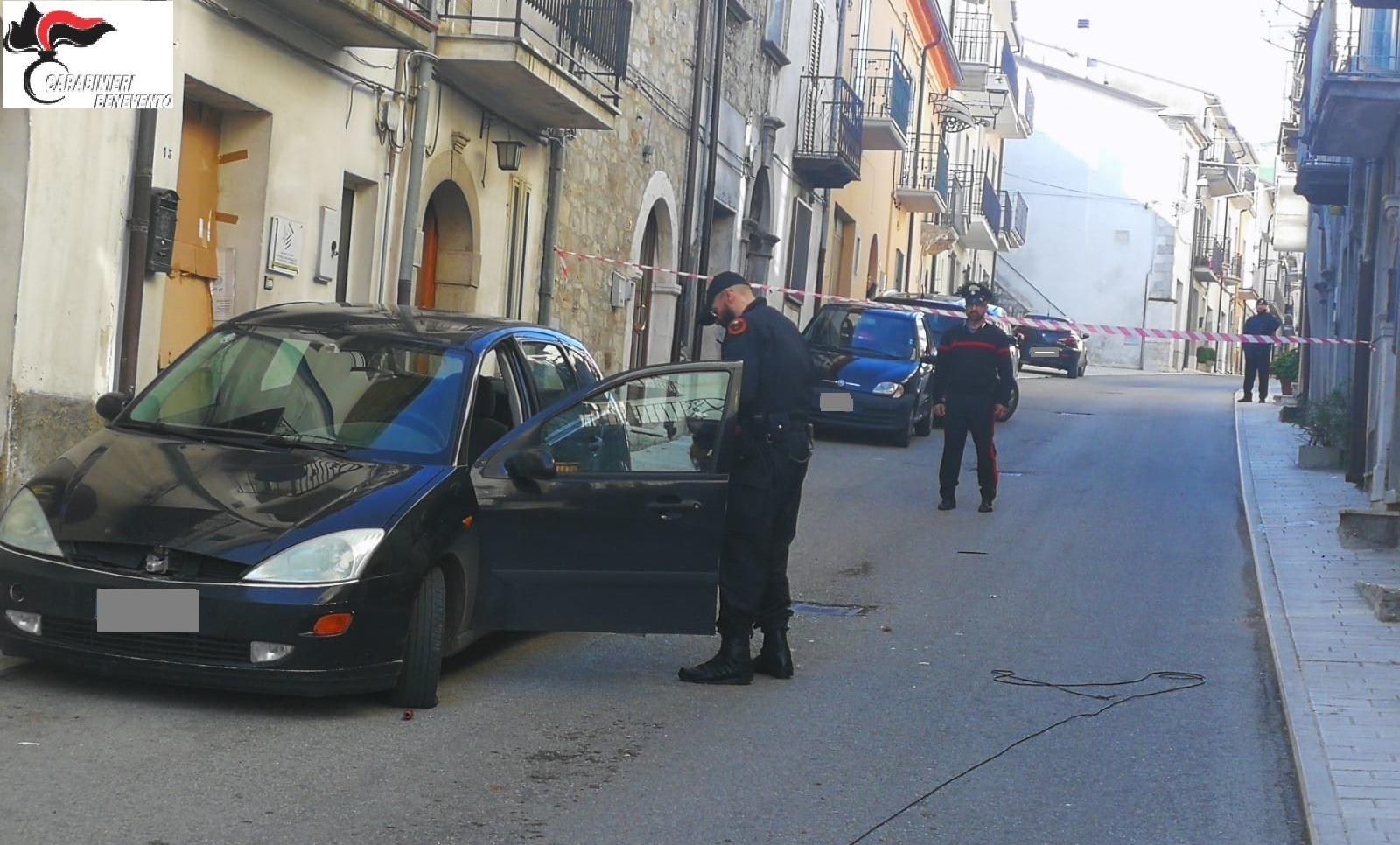 Sventato, dai carabinieri di San Bartolomeo in Galdo, un nuovo colpo ad un bancomat