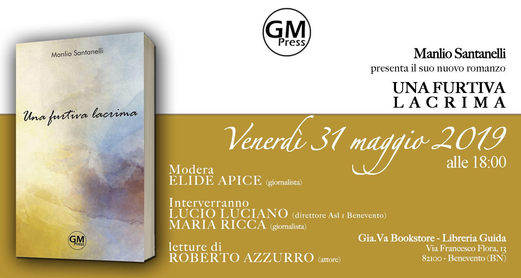 Alla libreria Guida di Benevento presentazione del primo romanzo di Manlio Santanelli
