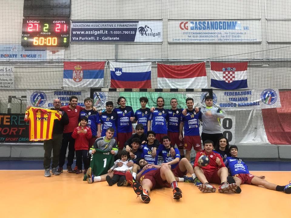 'Final8', la Asd Pallamano Benevento sconfitti dal Sassari