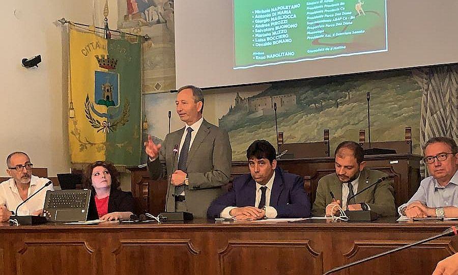 Valorizzazione delle risorse paesistico-ambientali e potenziamento dell'economia locale, questi gli obiettivi del neonato parco 'Dea Diana'