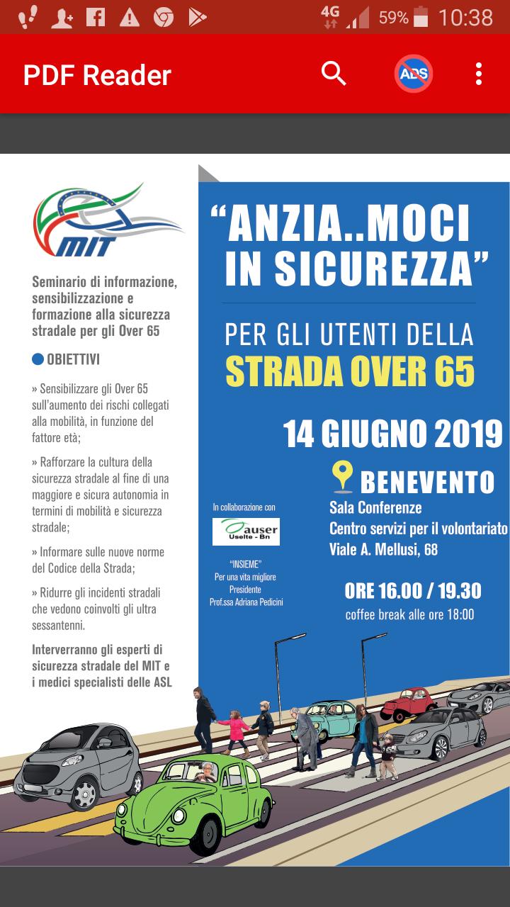 Sicurezza stradale degli over 65, se ne discute domani al palazzo Cesvob di Benevento