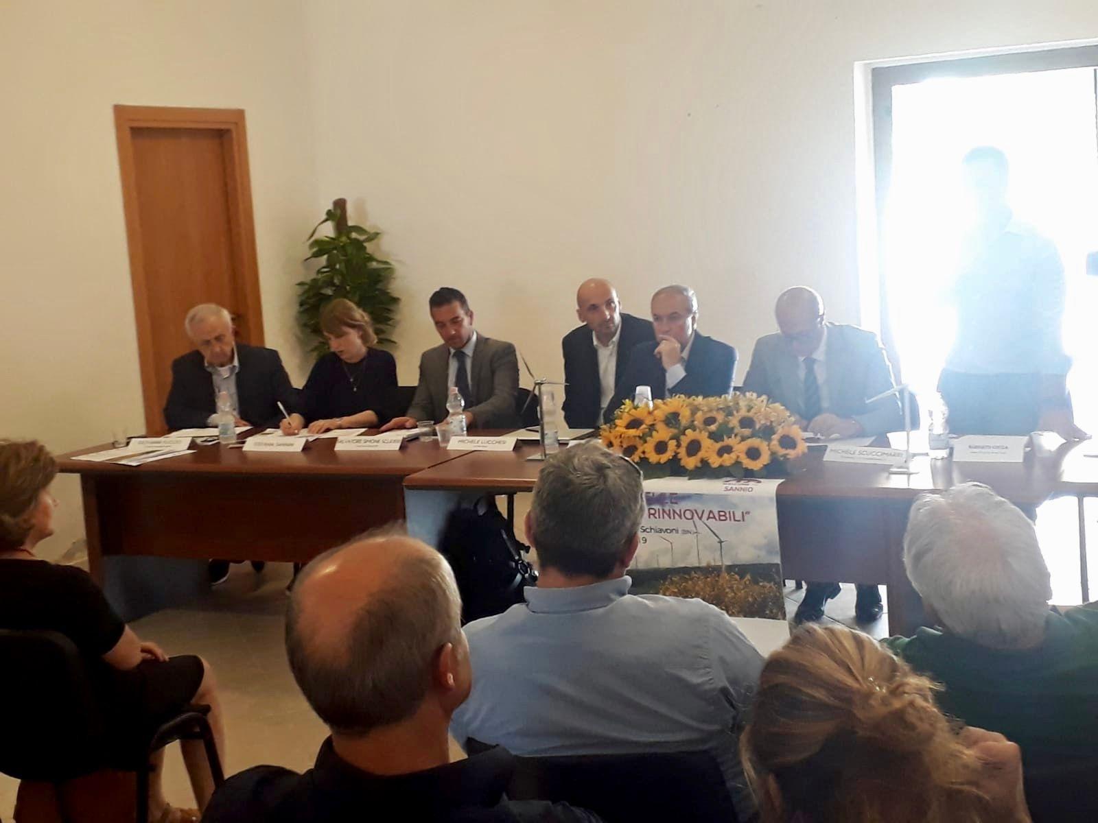 Rinnovabili e territorio, a Ginestra degli Schiavoni l'evento-dibattito che ha concluso Welcome To Sannio