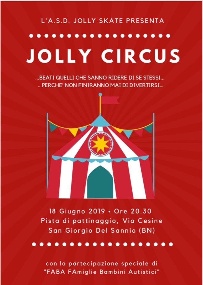 Magiche atmosfere circensi al saggio della Jolly Skate di martedì 18 giugno a San Giorgio del Sannio
