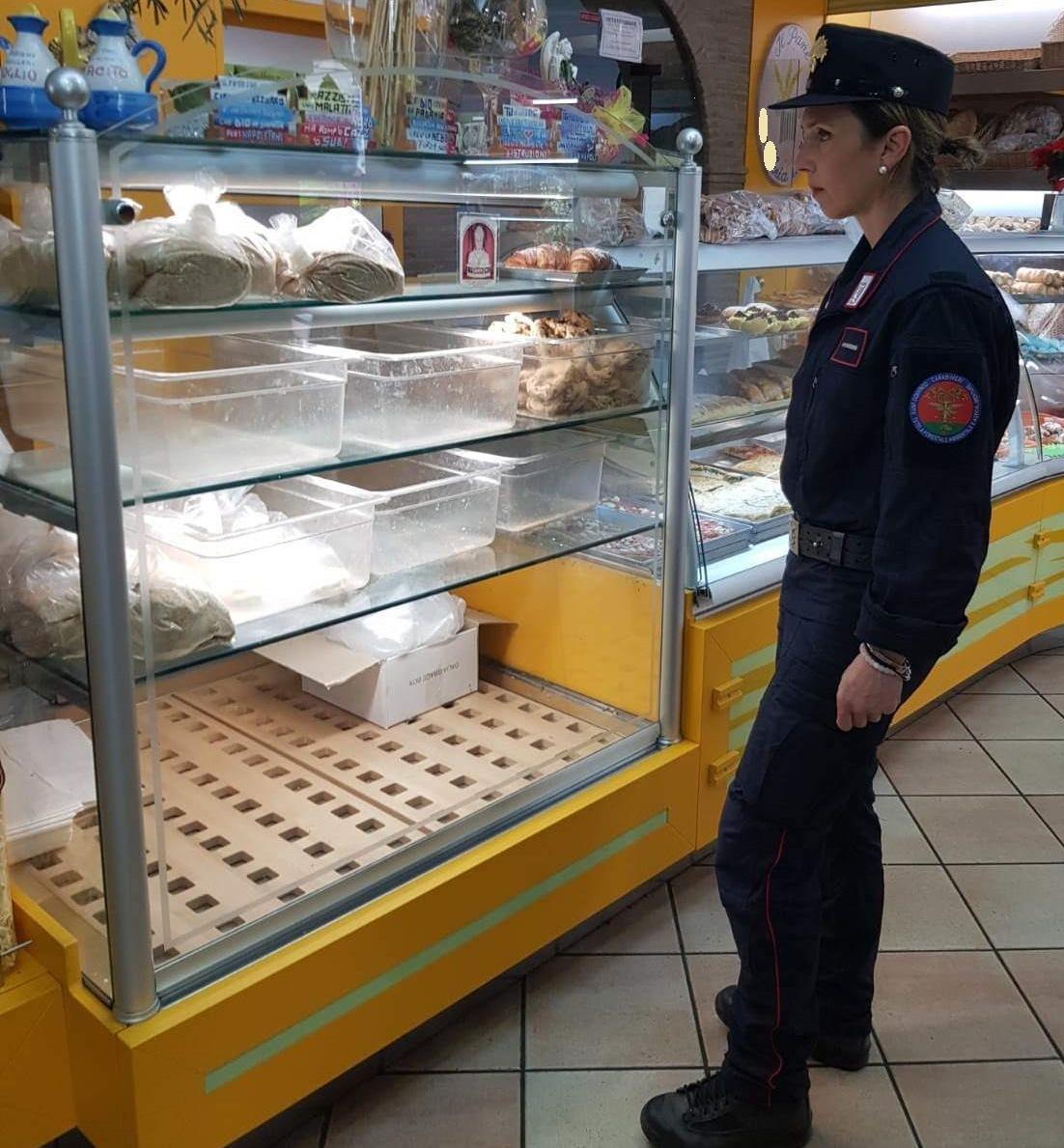 200kg. di alimenti sequestrati per violazione della normativa in materia di tracciabilitá ed etichettatura