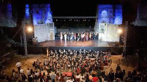 Benevento Teatro Romano, laboratorio coreografico di balletto del centro studi Carmen Castiello