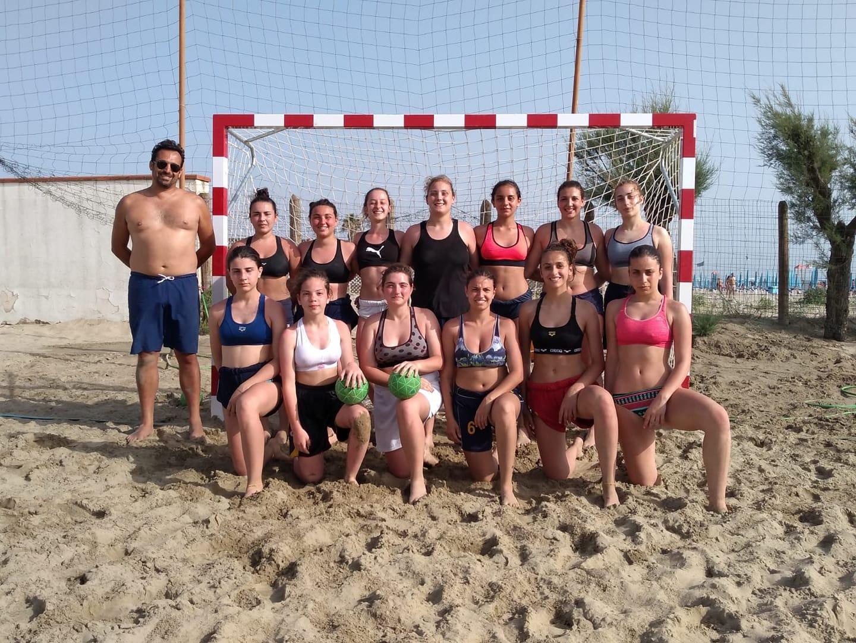 Asd Pallamano Benevento, al via l'avventura in spiaggia con i campionati di beach handball