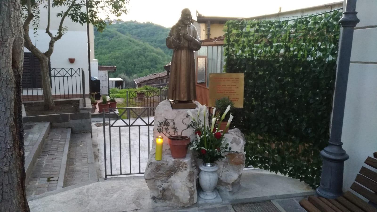 San Martino Sannita, Padre Pio incontra San Michele Arcangelo