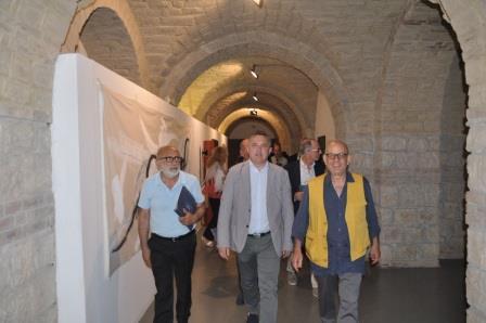 Inaugurata all'Arcos di Benevento la personale di Nicola Salvatore