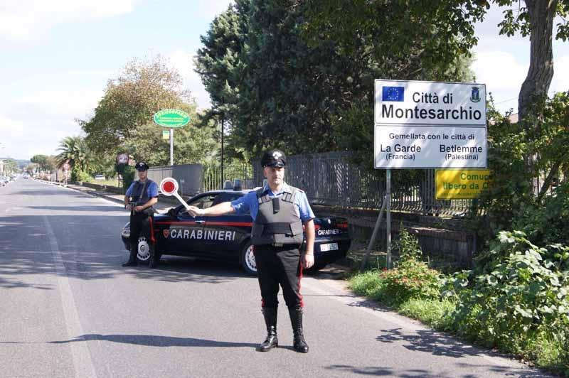 Carabinieri a lavoro per contrastare detenzione ed uso di sostanze stupefacenti