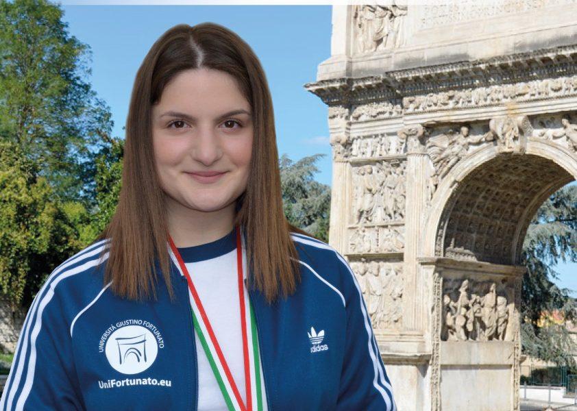 Universiadi, bronzo nel tiro a segno per la studentessa Unifortunato Maria Varricchio