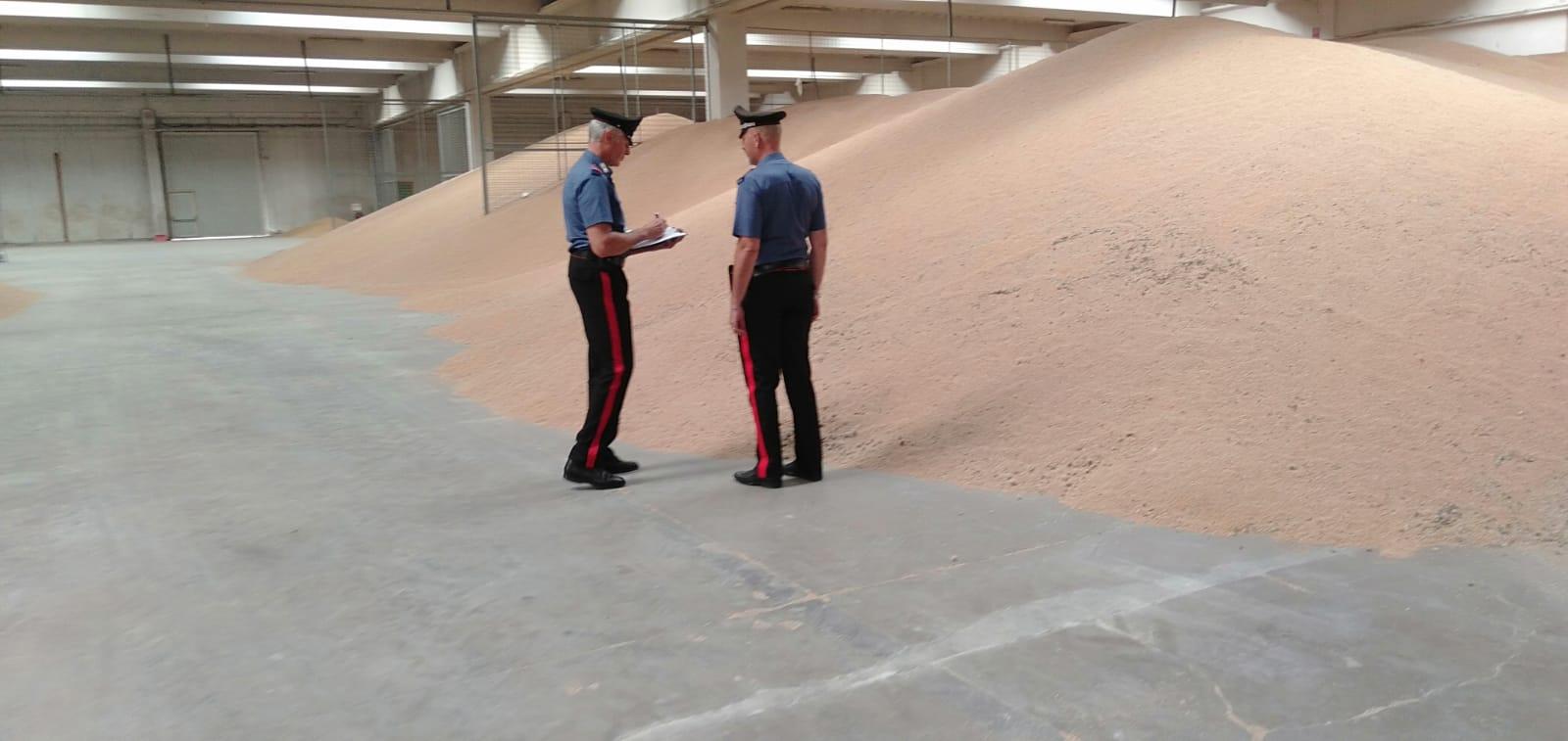 Tracciabilitá e condizioni igieniche incerte: sequestrati 45mila quintali di grano