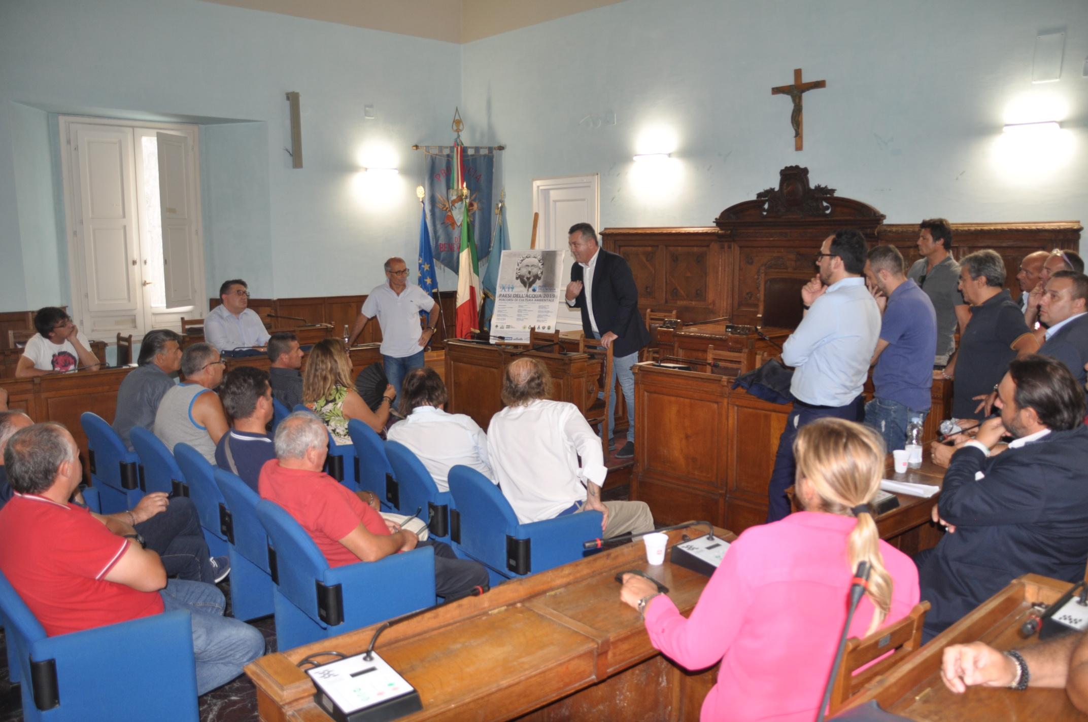 """Provincia, De Maria incontra i lavoratori della Samte. """"Presenterò in Regione proposta per risolvere la vertenza"""""""